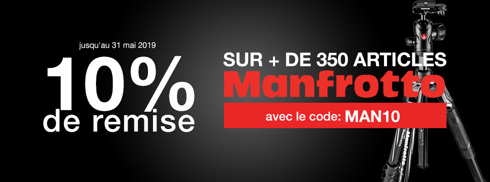 Home Manfrotto 10%