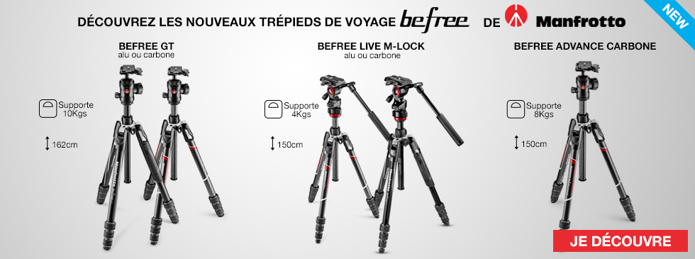 Befree Manfrotto trépieds