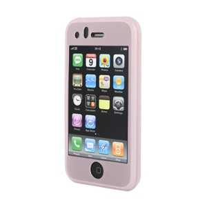Housse silicone rose pour iPhone (RUBIPHONE3GPINK)