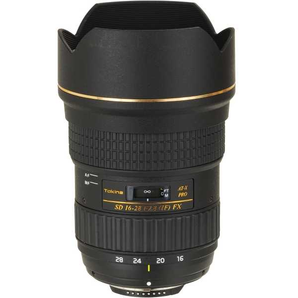 16-28mm f/2.8 AT-X Pro FX Monture Canon